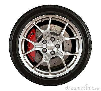 Free Car Wheel Stock Photo - 18144860