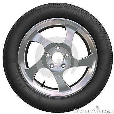 Free Car Wheel Stock Image - 2351351