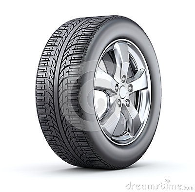 Free Car Wheel Royalty Free Stock Photos - 35270718