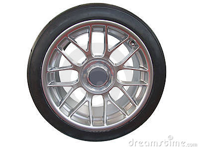 Car wheel and rim