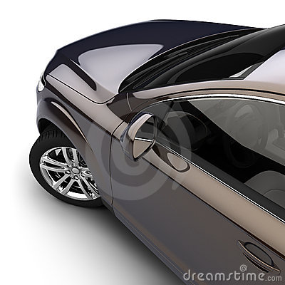 Free Car With A Dark Two-tone Paint Royalty Free Stock Photography - 15871897