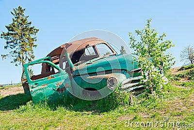 A car wreck
