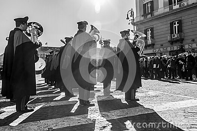 Carabinieri parade Editorial Stock Photo