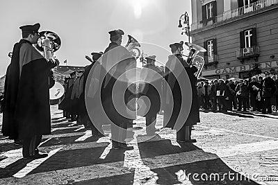 Carabinieri parade Editorial Stock Photo