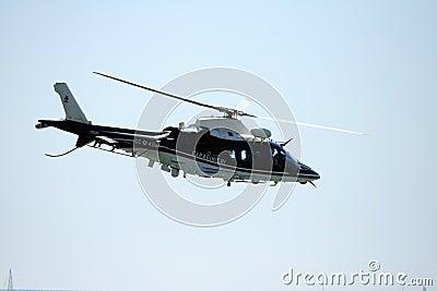 Carabinieri s helicopter Editorial Image