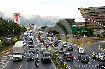 Caracas. Capital of Venezuela Editorial Stock Image