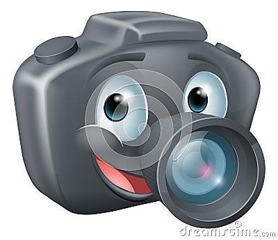 Caractère De Mascotte D'appareil-photo De DSLR Photos libres de droits - Image: 26680548