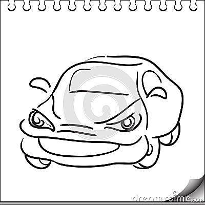 Caractère de véhicule