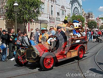 Caracteres de Disney Imagen editorial