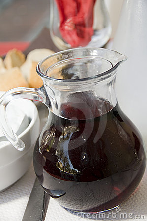 Carafe red wine ajaccio corsica