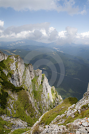 Caraiman Mountains view