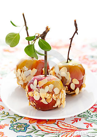 Free Caramel Apples Stock Photography - 20723432