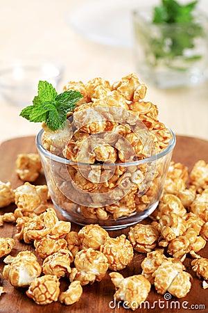 Free Caramel Popcorn Stock Image - 14032781
