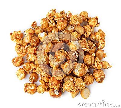 Free Caramel Popcorn Stock Photo - 46382680