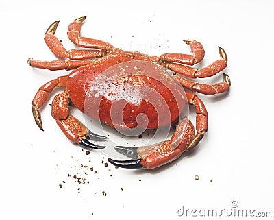 Caranguejo e pimenta