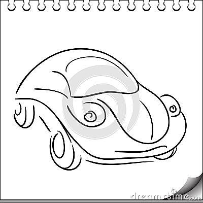 Carattere dell automobile