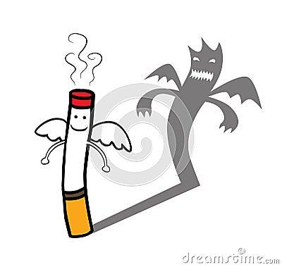 La genialità figlia degli esseri liberi Carattere-diabolico-della-sigaretta-25726649