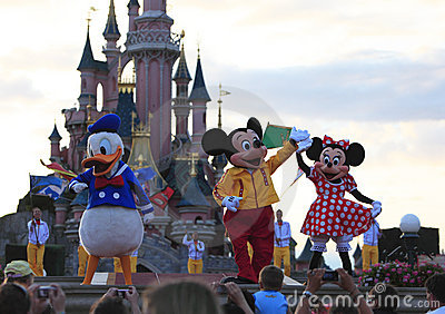 Caratteri di Disney Fotografia Editoriale