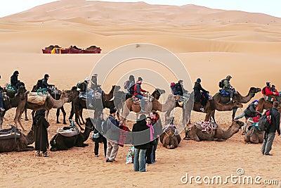 Caravan Editorial Image