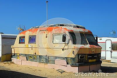 Caravana velha
