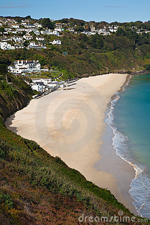 Carbis Bay in Cornwall
