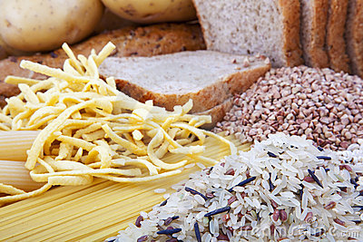 Carbohydrate products background