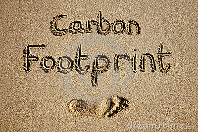 Carbon footprint.