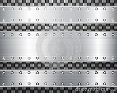 Carbon and metal plates