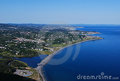 Carbonear Town Scenic Royalty Free Stock Photography Image 10147967