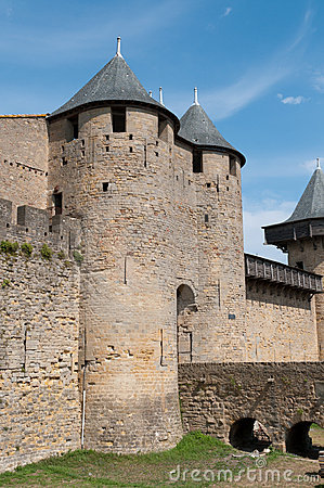 Carcassonne Castle Entrance
