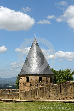 Carcassonne Castle Towers