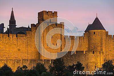 Carcassonne Citadel - France