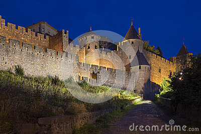 Carcassonne Fortress  - France