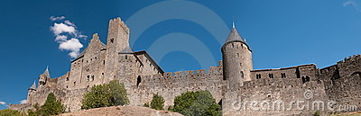 Carcassonne, in France