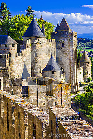 Free Carcassonne (France, Languedoc) Royalty Free Stock Photos - 49049398