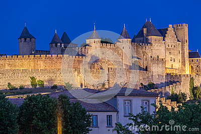 Carcassonne Medieval City France