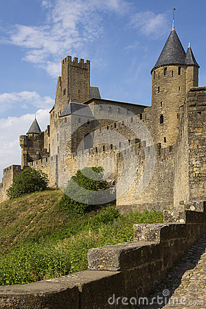 Carcassonne Medieval Fortress - France