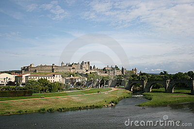 Carcassonne scenic France