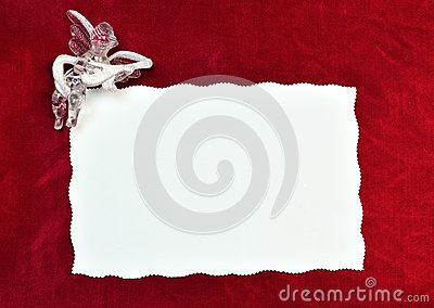 Card with an angle