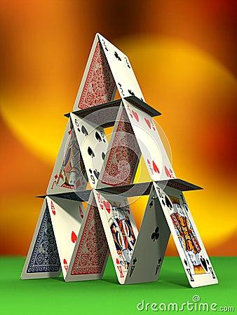Free Card Castle Stock Photos - 4340803