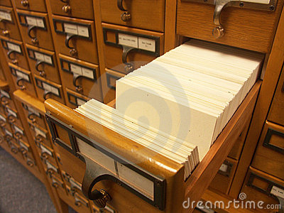 Card Catalogue - One Drawer
