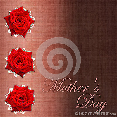 Card for congratulation  for Mother`s day