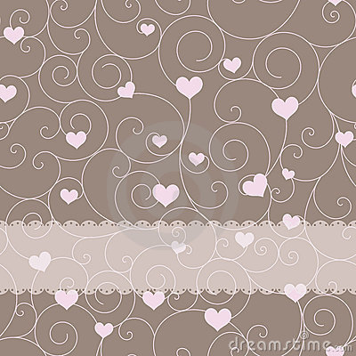 Card design for wedding or valentine s day
