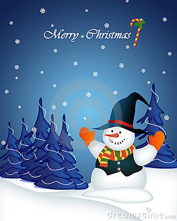 Free Card Illustration By Christmas Stock Photography - 17475742