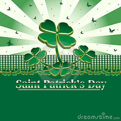 Card for Saint Patrick s Day
