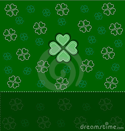 Card for St. Patrick s Day