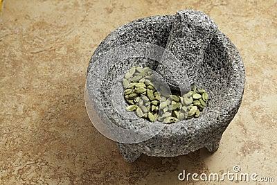 Cardamom Seeds green.