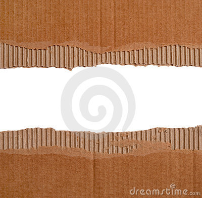Cardboard borders
