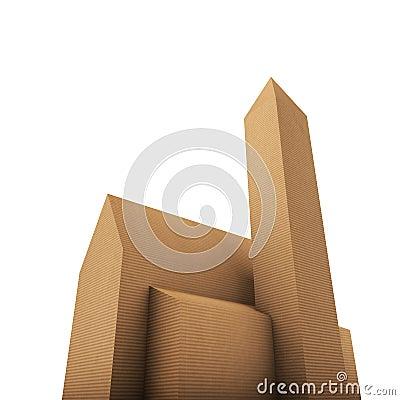 Cardboard church