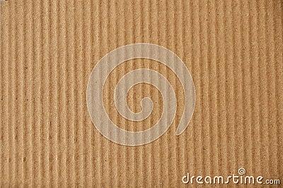 Cardboard Closeup